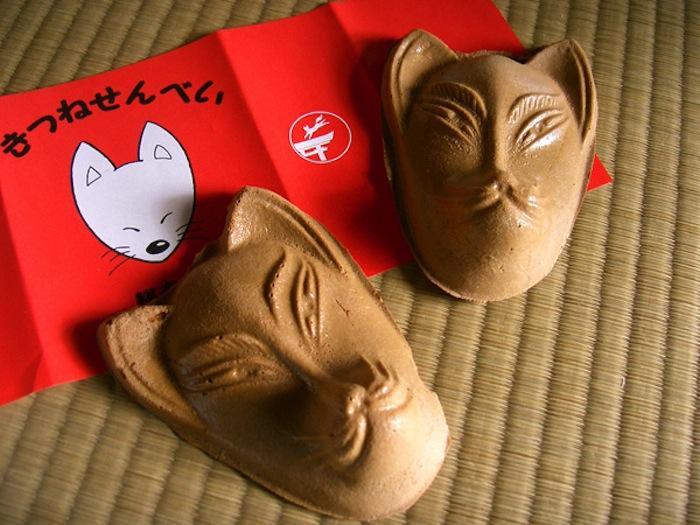 kitsune-senbei