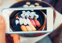 Instagram sushi