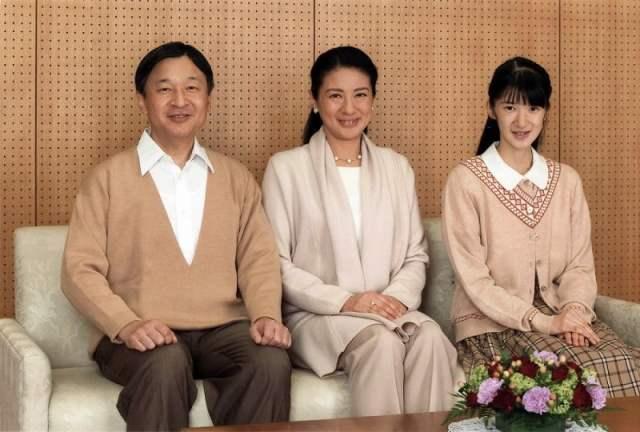 Príncipe Naruhito, Masako e Aiko