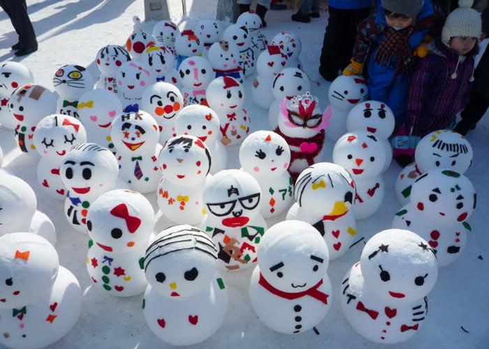 festival de inverno no Japão