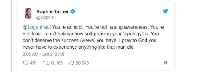 Sophie Turner - Twitter