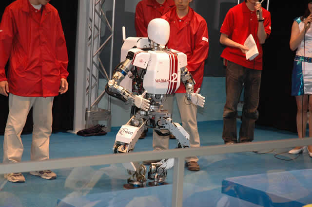 Robôs humanoides