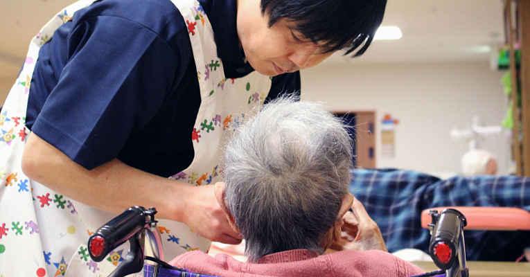 cuidador de idoso no Japão