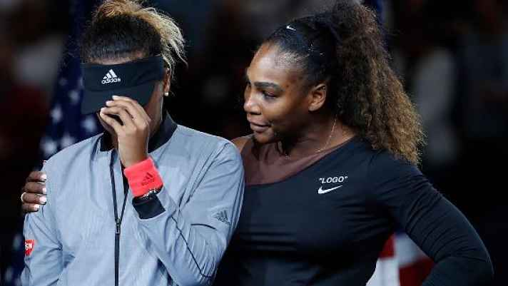 Naomi Osaka e Serena Williams