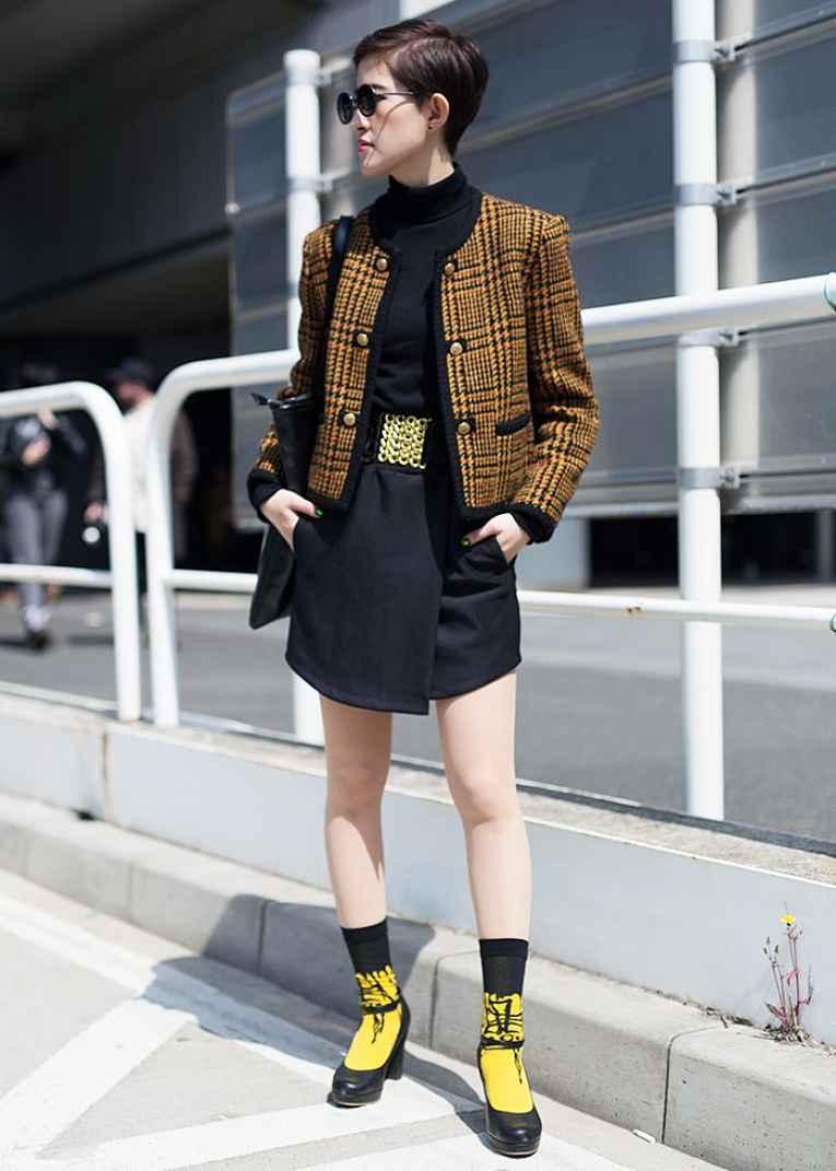 tendência de moda do Japão