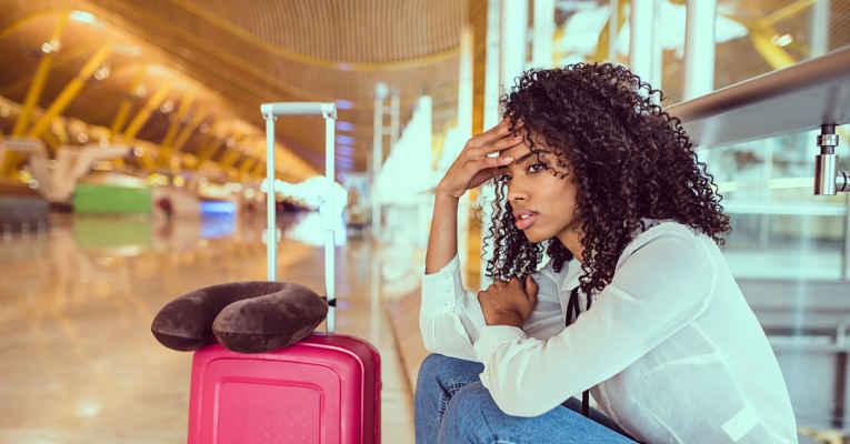 problemas em viagem de turismo