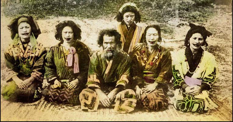 povo ainu Japão