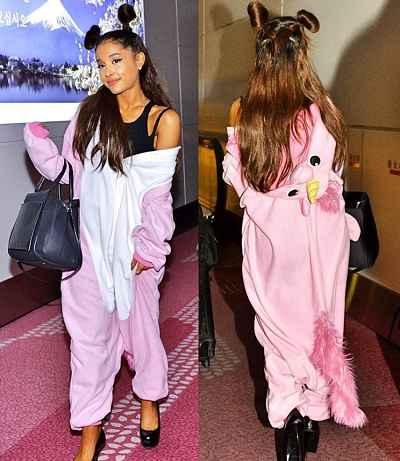 Ariana Grande veste kigurumi