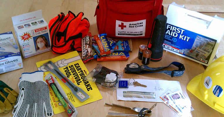 kit emergência
