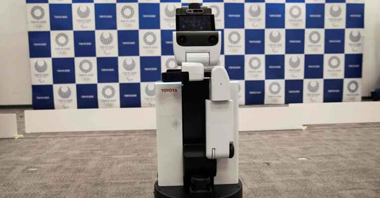Robôs Toyota Olimpíadas Tokyo 2020