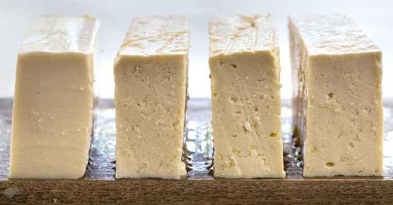 Tipos de tofu