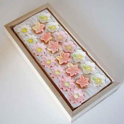 Rakugan em formato de flor
