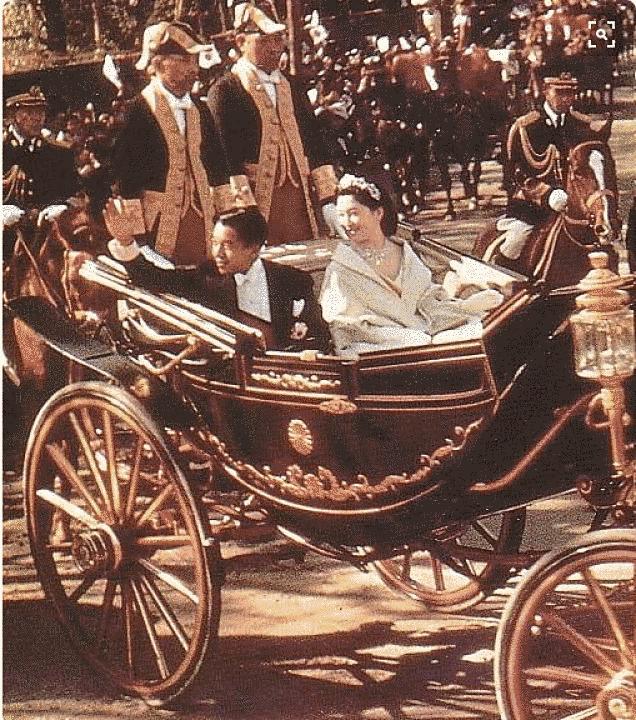 Casamento real Michiko e Akihito