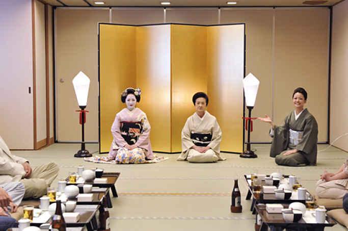 recepção e Gion Shimonso
