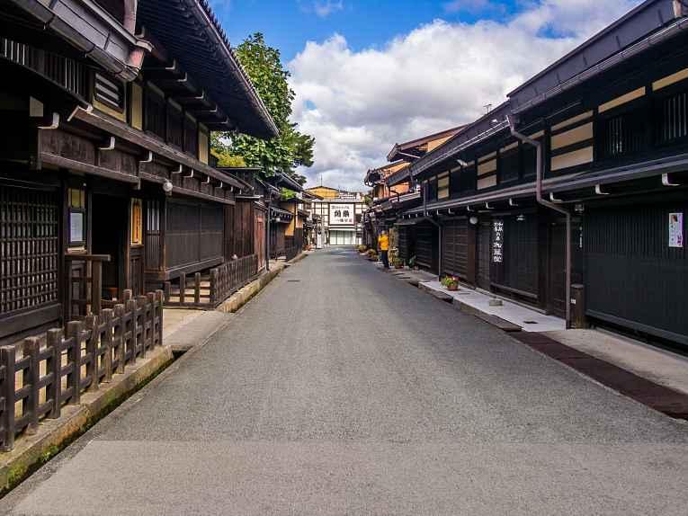 Pavimento de rua no Japão