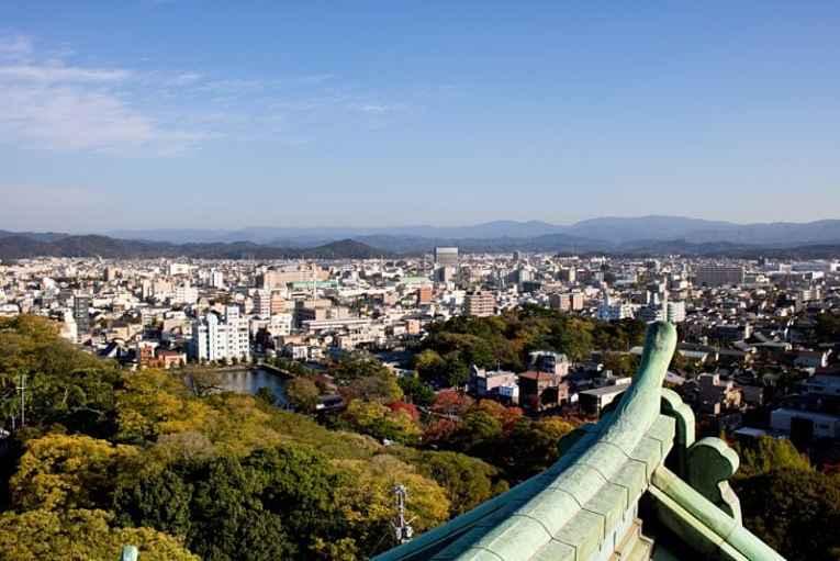 Vista de Wakayama