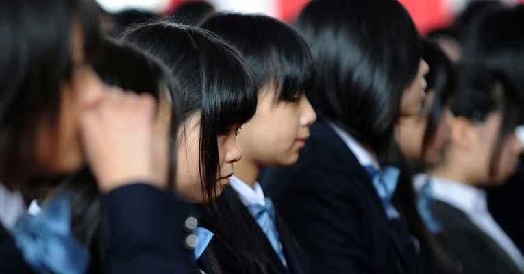 Cabelo nas escolas japonesas