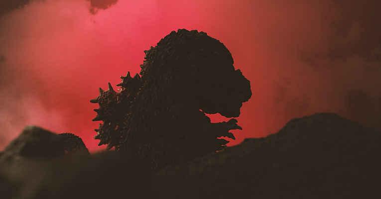 Cena do filme Godzilla