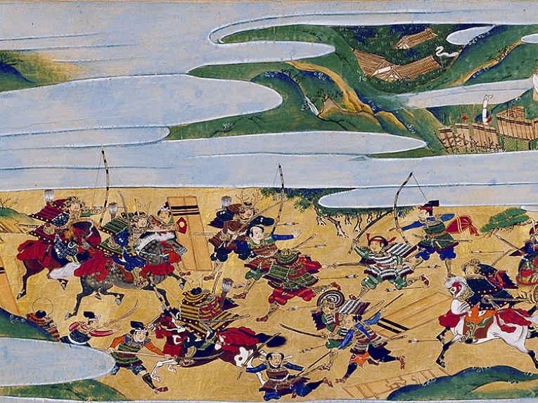 Ilustração do período Sengoku