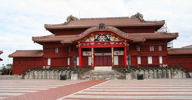Castelo real Ryukyu