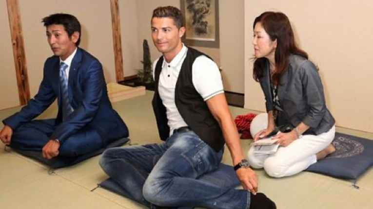 Jogador de futebol no Japão