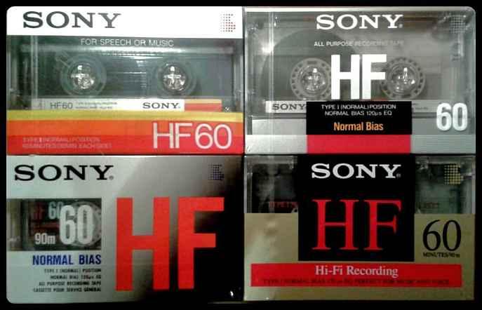 Fitas K7 da Sony