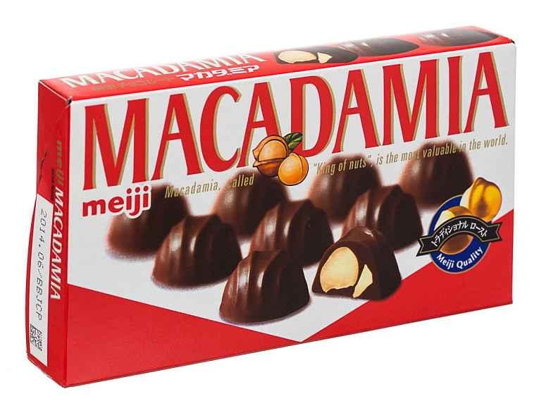 Caixa do chocolate Meiji