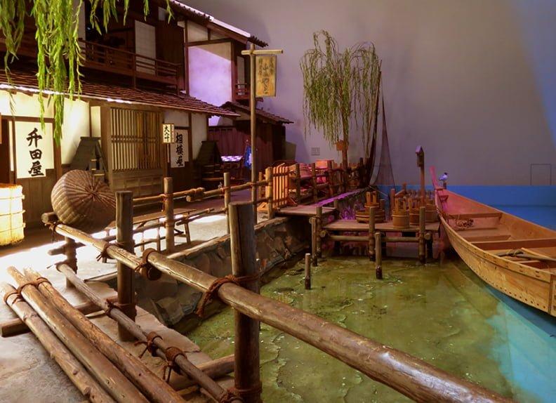 Interior do museu Fukugawa