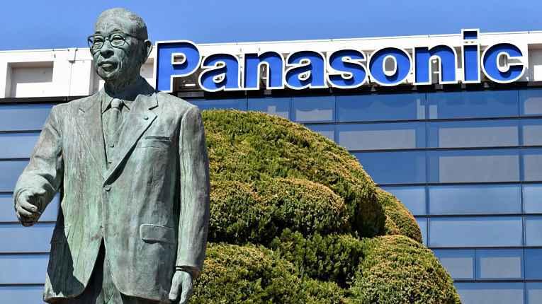 Estátua do fundador da Panasonic