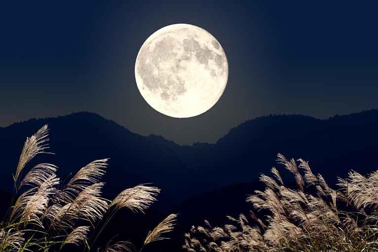 Lua do meio do outono