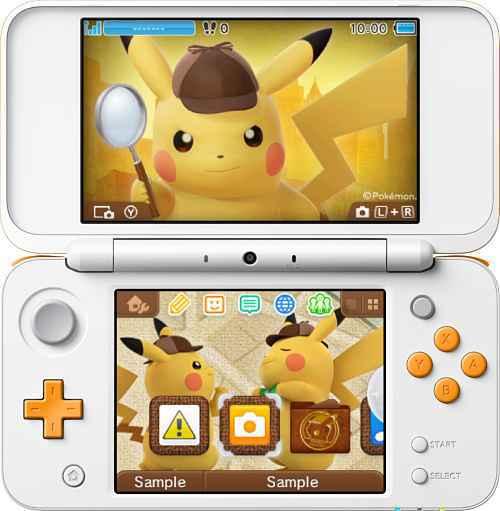Jogo Detetive Pikachu no Nintendo DS