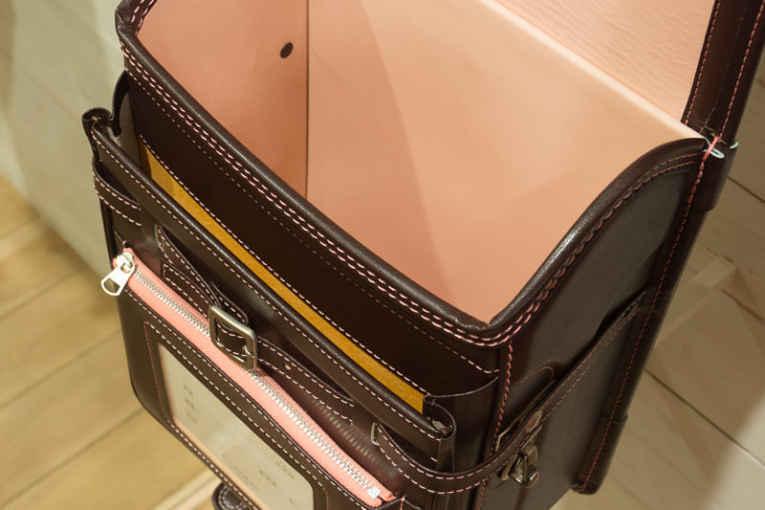 Interior da mochila