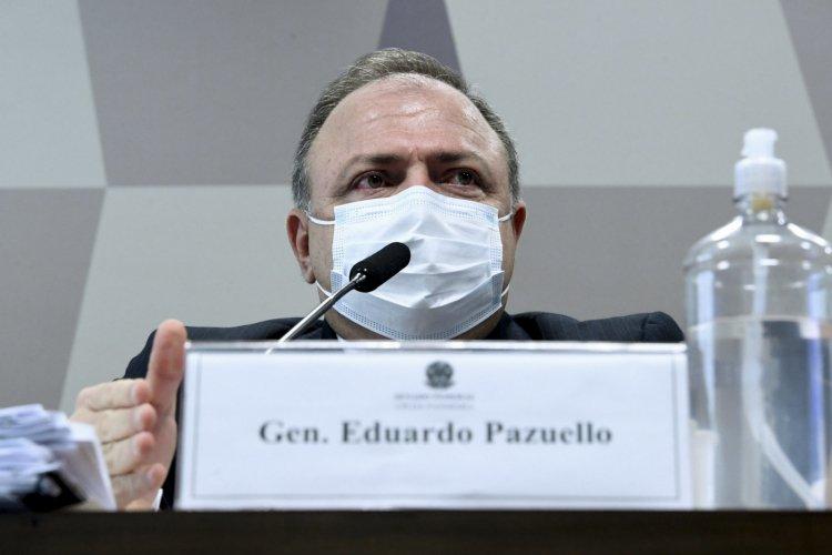 Lewandowski mantém quebras de sigilo de Eduardo Pazuello e Mayra Pinheiro na CPI