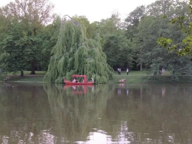 Park Lazienki Krolewskie
