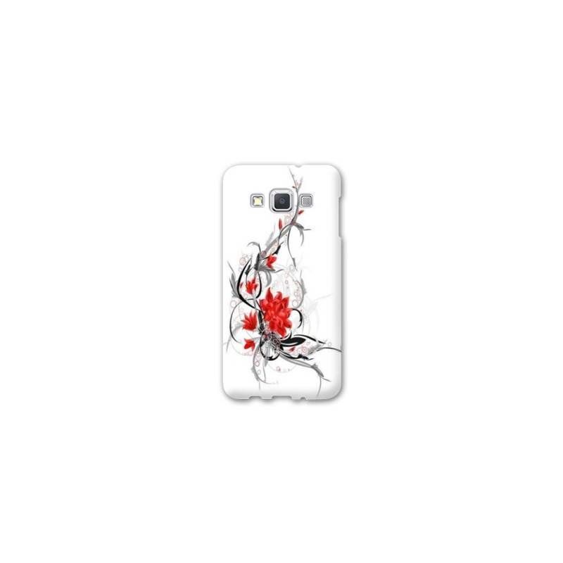 Coque Samsung Galaxy J3 (2016) J310 fleurs
