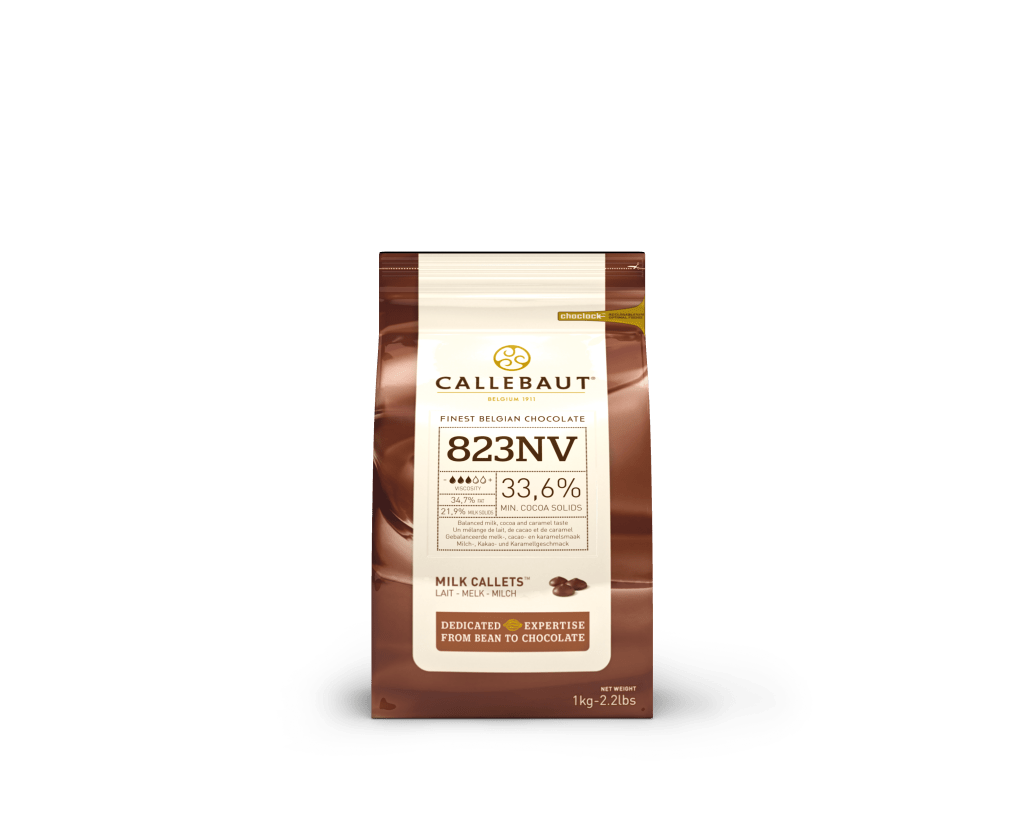Mliečna Čokoláda 33% Callebaut 1kg