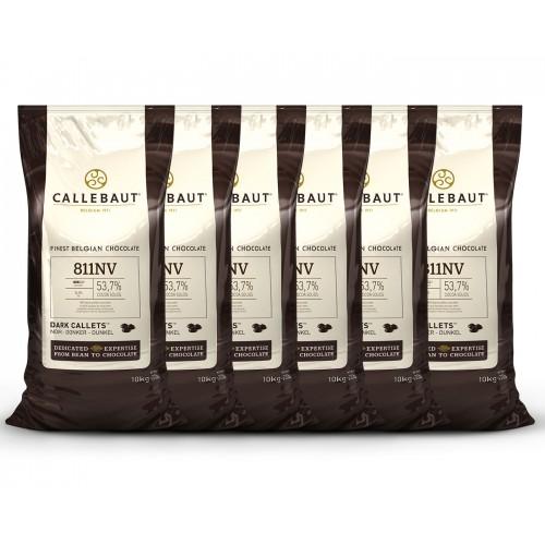 MegaBox Horká čokoláda 54,5% 60kg Callebaut