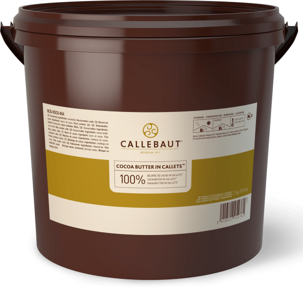 Bucket 3kg Cocoa Butter Callets