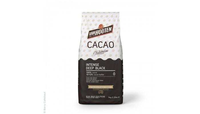 Kakao Intense Deep Black 100% Van Houten