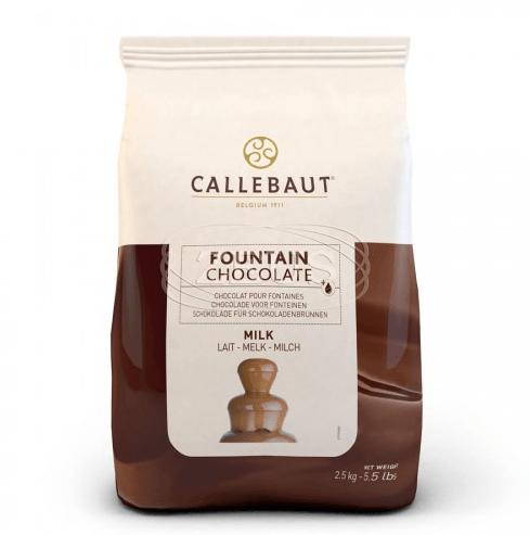 Čokoláda do fontán mliečna Callebaut 2.5kg