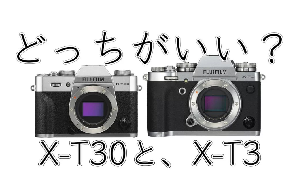 FUJIFILM X-T30と,X-T3を比較。どっちを選ぶ? | Cola Blog (コーラブログ)