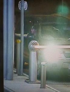 Footage of a man and vehicle wanted in relation to a robbery at Lorne.