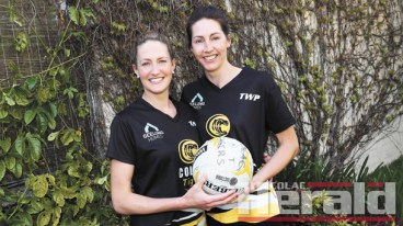 The Colac Tigers have appointed sisters Sara Hay, left, and Hope Carmody as the club's 2017 A Grade netball co-coaches. The decorated netballers will take on the role from Stacey McCarthy.