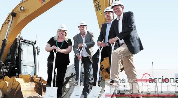 Construction begins on $258M wind farm