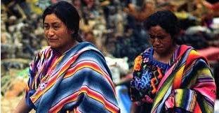 Descendentes maias na Guatemala