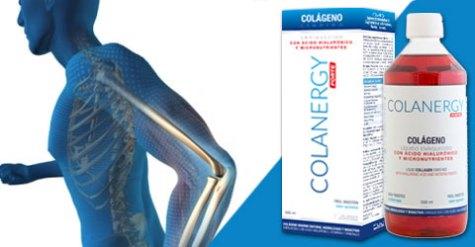 efecto del colágeno colanergy forte en los huesos: fortalece los huesos y reduce el dolor