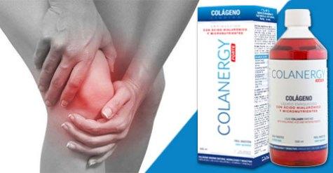 efecto del colágeno colanergy forte en las articulaciones y tendones: mayor elasticidad, flexibilidad y reducción del dolor