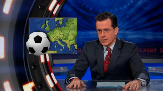 Stephen Colbert on soccer