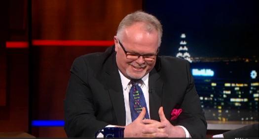 Kirk Bloodsworth Colbert Report interview