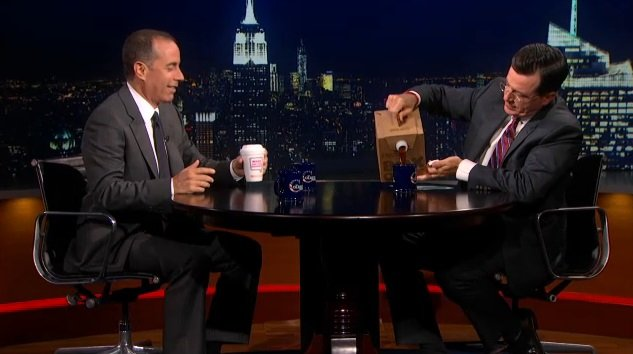 Jerry Seinfeld on The Colbert Report